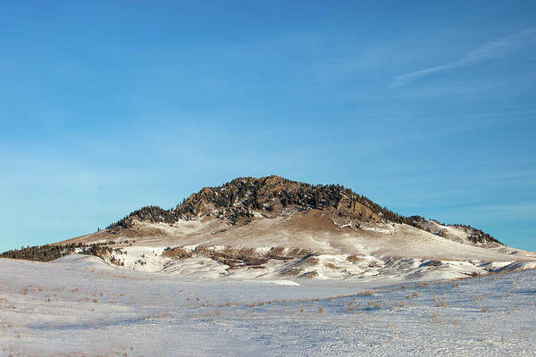 Photograph - Snowy Butte by Todd Klassy