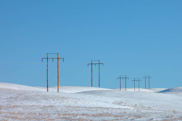 Wall Art - Photograph - Snowy Line by Todd Klassy