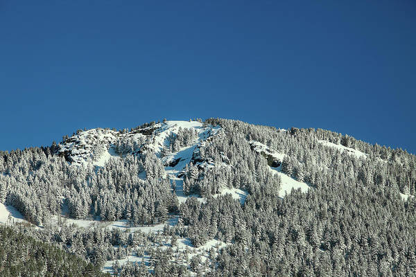 Photograph - Snowy Mount by Todd Klassy
