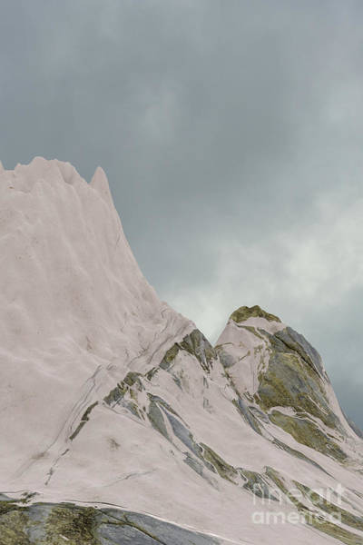 Digital Art - Snowy Mountain 004 by Clayton Bastiani