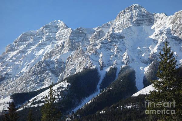 Photograph - Snowy Mountain Top by Wilko Van de Kamp