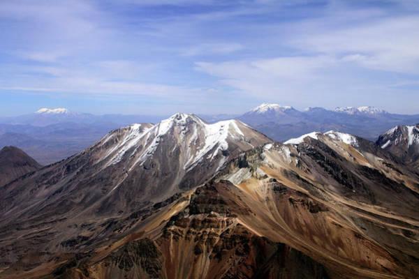 Puno Photograph - Snowy Peaks by Marcos Granda P - Peru