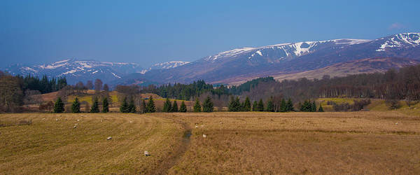 Photograph - Snowy Peaks Of The Scottish Highlands by Bill Cannon