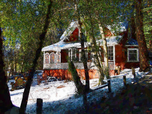 Photograph - Snowy Retreat by Glenn McCarthy Art and Photography