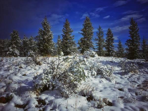 Photograph - Snowy Ridgeline by Dan Miller