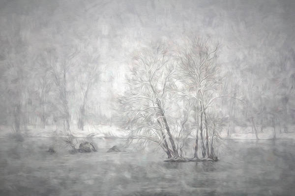 Wall Art - Photograph - Snowy River by Francis Sullivan