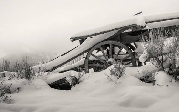 Wall Art - Photograph - Snowy Rollback Through Time by Mike Herron