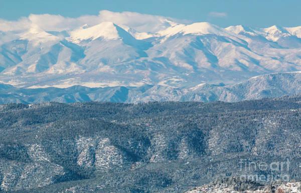 Photograph - Snowy Sangre De Cristo Range by Steve Krull