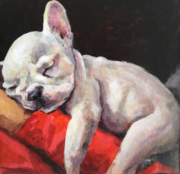 Wall Art - Painting - Snuggles by Susan Elizabeth Jones