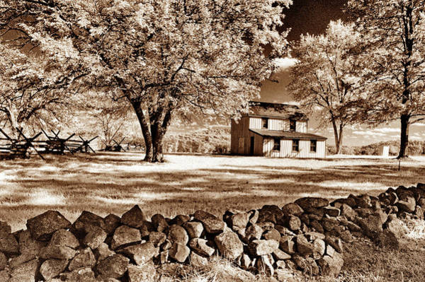 Wall Art - Photograph - Snyder Farm House In Infrared by Paul W Faust - Impressions of Light