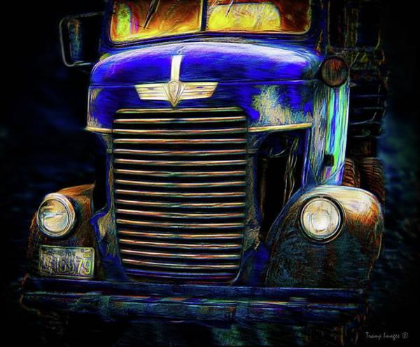 Digital Art - So Long Ago - Blue Version by Wesley Nesbitt