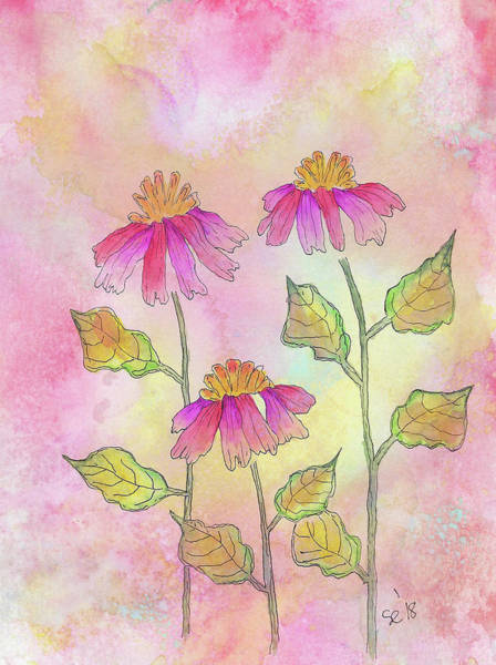 Painting - So Pretty In Pink by Susan Campbell