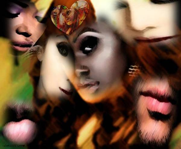 Digital Art - Soap Opera by Catherine Lott