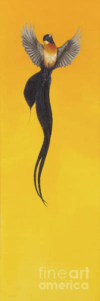 Arisen Painting - Soar, Yellow by Tim Hayward