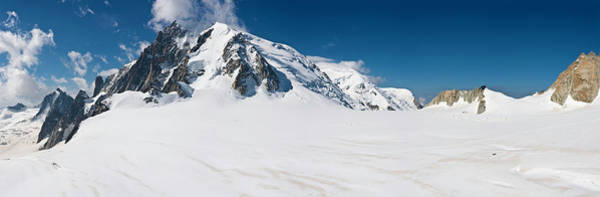 Wall Art - Photograph - Soaring Alpine Peaks Snowy Wilderness by Fotovoyager