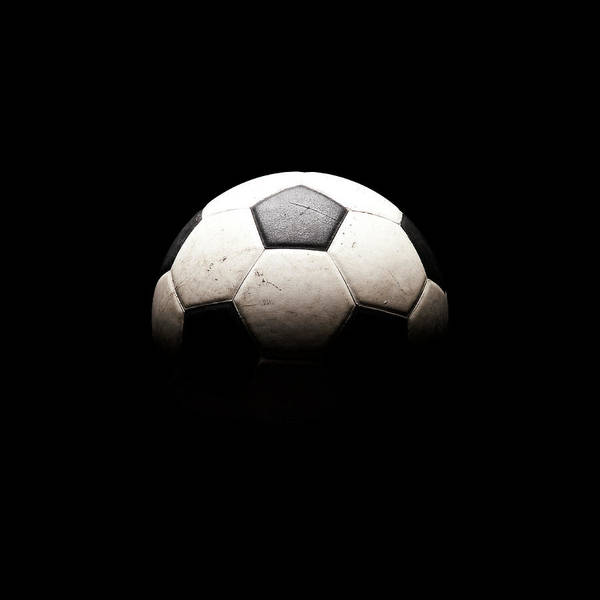 Ball Photograph - Soccer Ball In Shadows by Thomas Northcut