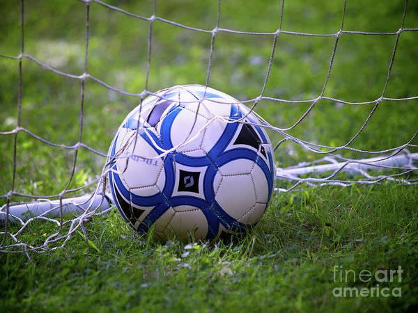 Photograph - Soccer Ball by Mark Miller