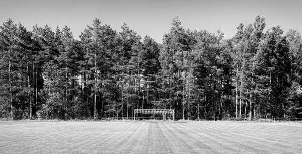 Baden Wuerttemberg Photograph - Soccer Field In The Countryside, Baden by Panoramic Images