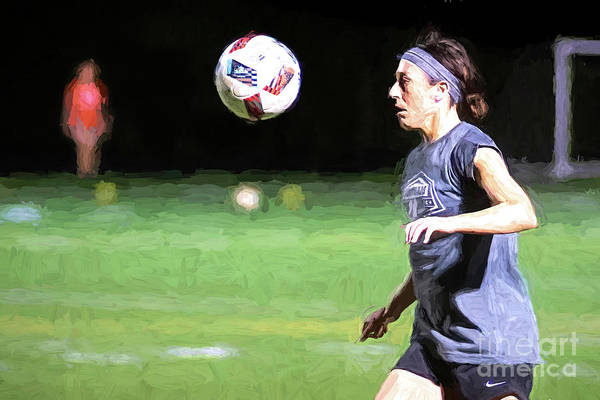 Digital Art - Soccer Fun by Ed Taylor