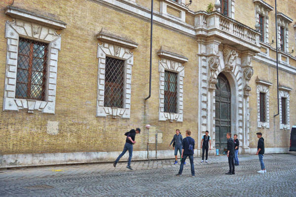 Photograph - Soccer On The Square by JAMART Photography