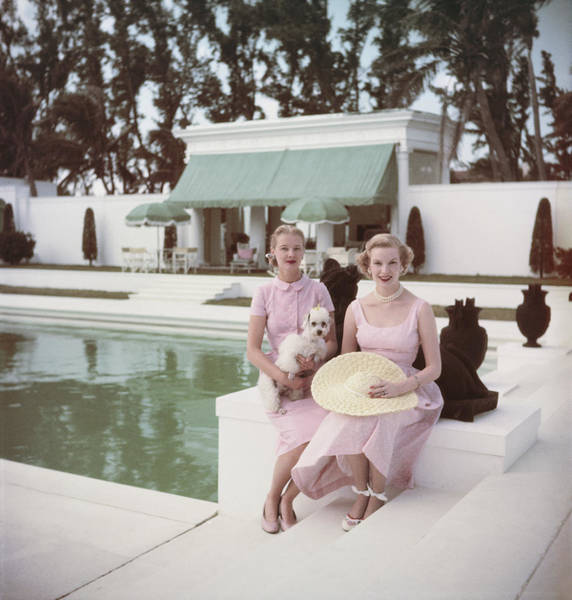 Guest Photograph - Socialites by Slim Aarons