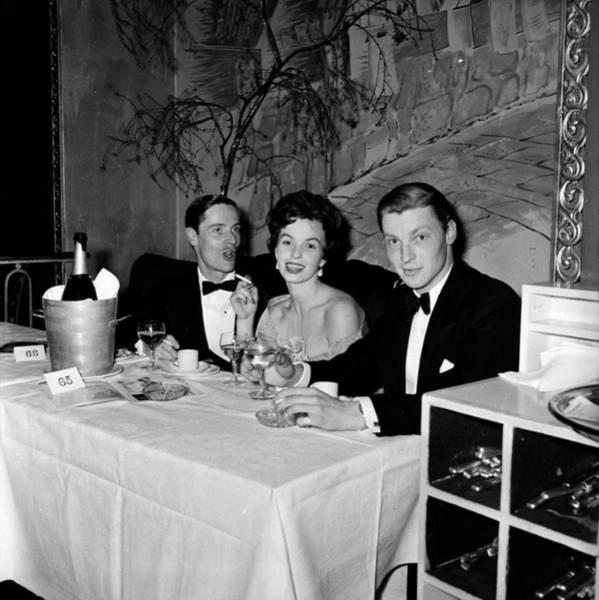 High Society Photograph - Society Dinner by Bert Hardy