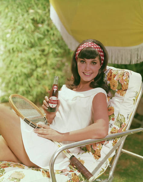Headband Photograph - Soda And Tennis by Tom Kelley Archive