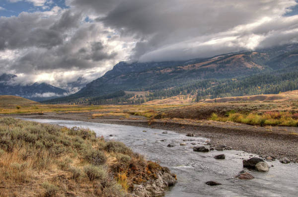 Photograph - Soda Butte Creek by Steve Stuller
