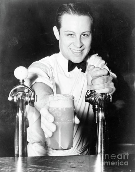 Photograph - Soda Jerk, 1936 by Alan Fisher