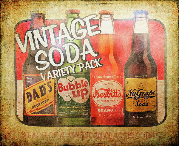 Photograph - Soda Pop Sign by Jill Love