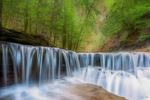 Stoney Brook Photograph - Soft Falls by Chip Evra