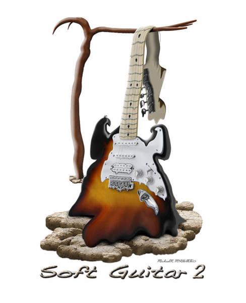 Wall Art - Photograph - Soft Guitar 2 by Mike McGlothlen