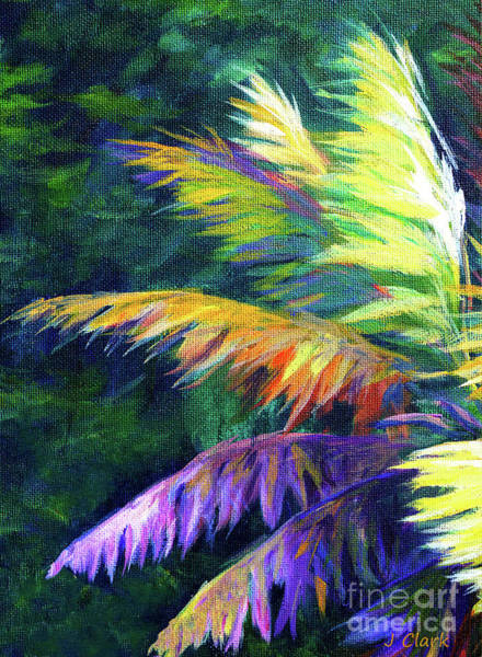Leaf Painting - Soft Palm by John Clark