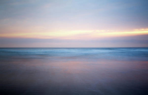 Cleveland Scene Photograph - Soft Pastels Colours At Dawn by Doug Chinnery