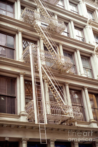 Photograph - Soho Architecture In New York City by John Rizzuto
