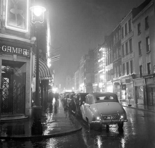Street Photograph - Soho Night by Peter Purdy