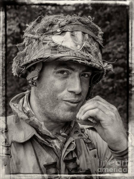 Photograph - Soldier by Bernd Laeschke