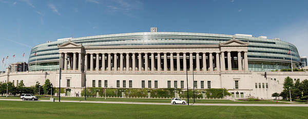 Wall Art - Photograph - Soldier Field Chicago – Xxxl by Helpinghandphotos