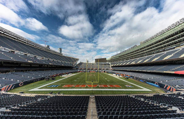 Soldier Field Photograph - Soldier Field Chicago In Color by Robert Hayton