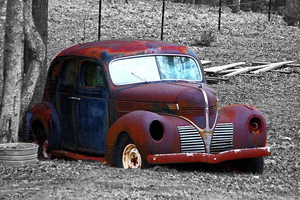Photograph - Solid Body, Some Rust by Dale R Carlson