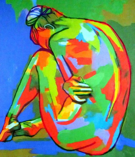 Painting - Solitary Figure by Helena Wierzbicki