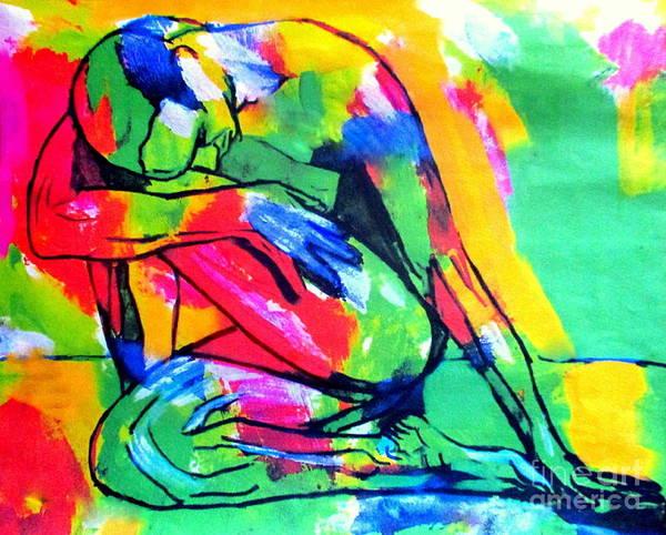 Painting - Solitary Man by Helena Wierzbicki