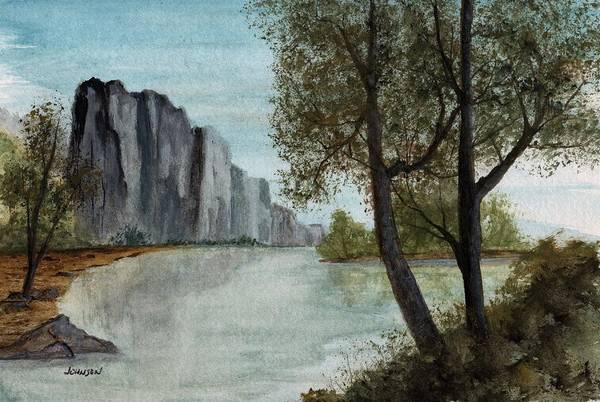 Wall Art - Painting - Solitude Of The Wildeness by James Michael Johnson