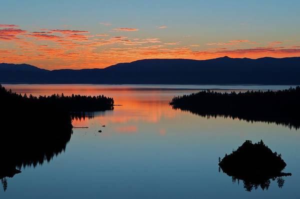 Lake Tahoe Photograph - Solstice Sunrise, Emerald Bay, Lake by Stevedunleavy.com