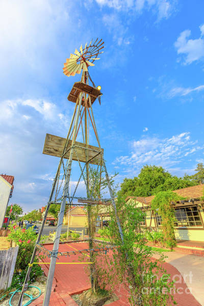 Photograph - Solvang Town Windmill by Benny Marty