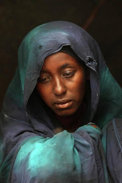 Mogadishu Wall Art - Photograph - Somali Famine Refugees Seek Aid In by John Moore