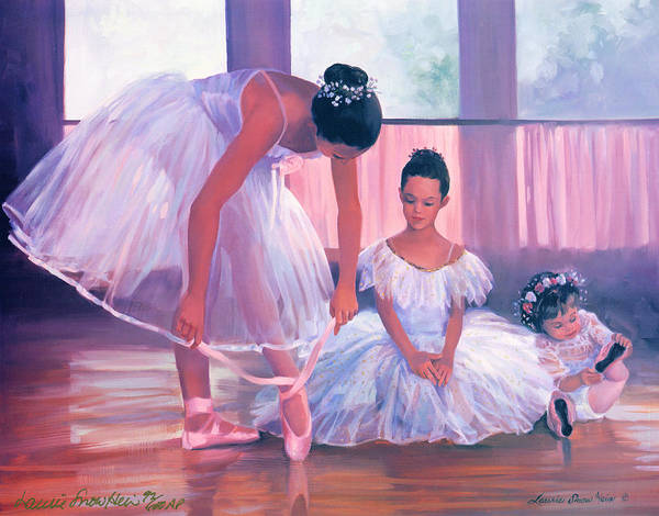 Wall Art - Painting - Someday I Will Have Toe Shoes by Laurie Snow Hein