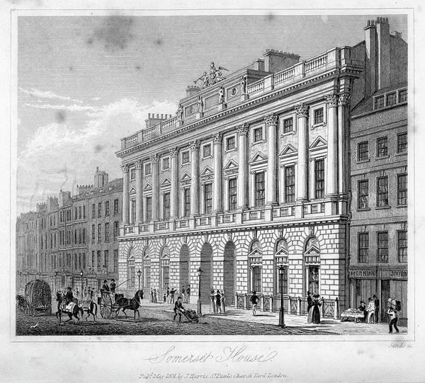 Victorian House Digital Art - Somerset House by Duncan1890