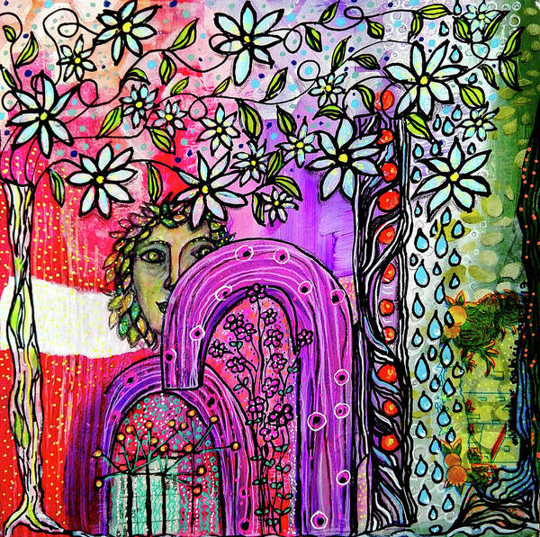 Mixed Media - Something About Spring by Mimulux patricia No