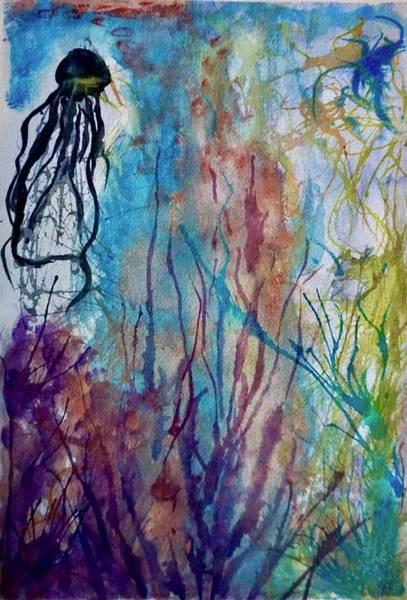Oregon Coast Mixed Media - Something In The Water by Kelli Walker